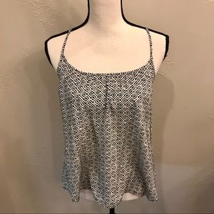 Old Navy Adjustable Black/White Top SZ S USED